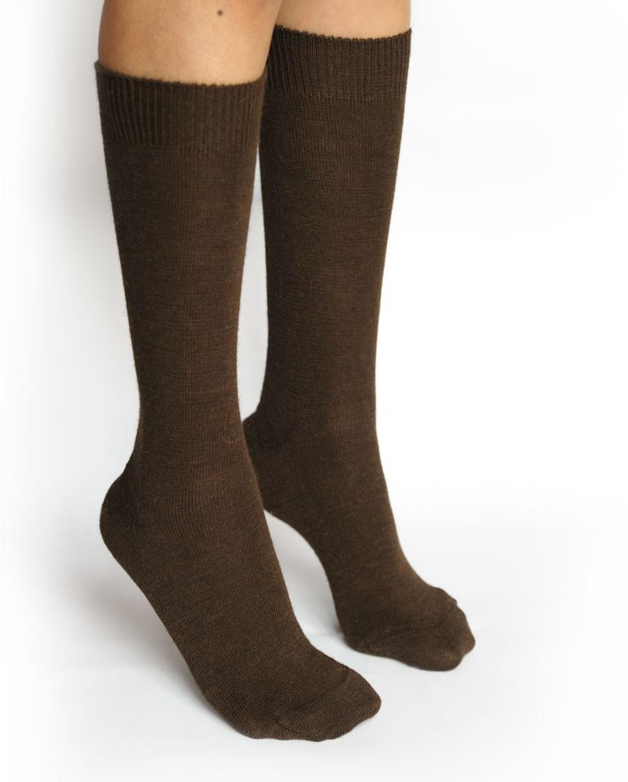 ... Calcetines de Alpaca para Mujer. Marrón oscuro. Loading zoom c1042d6f5eb