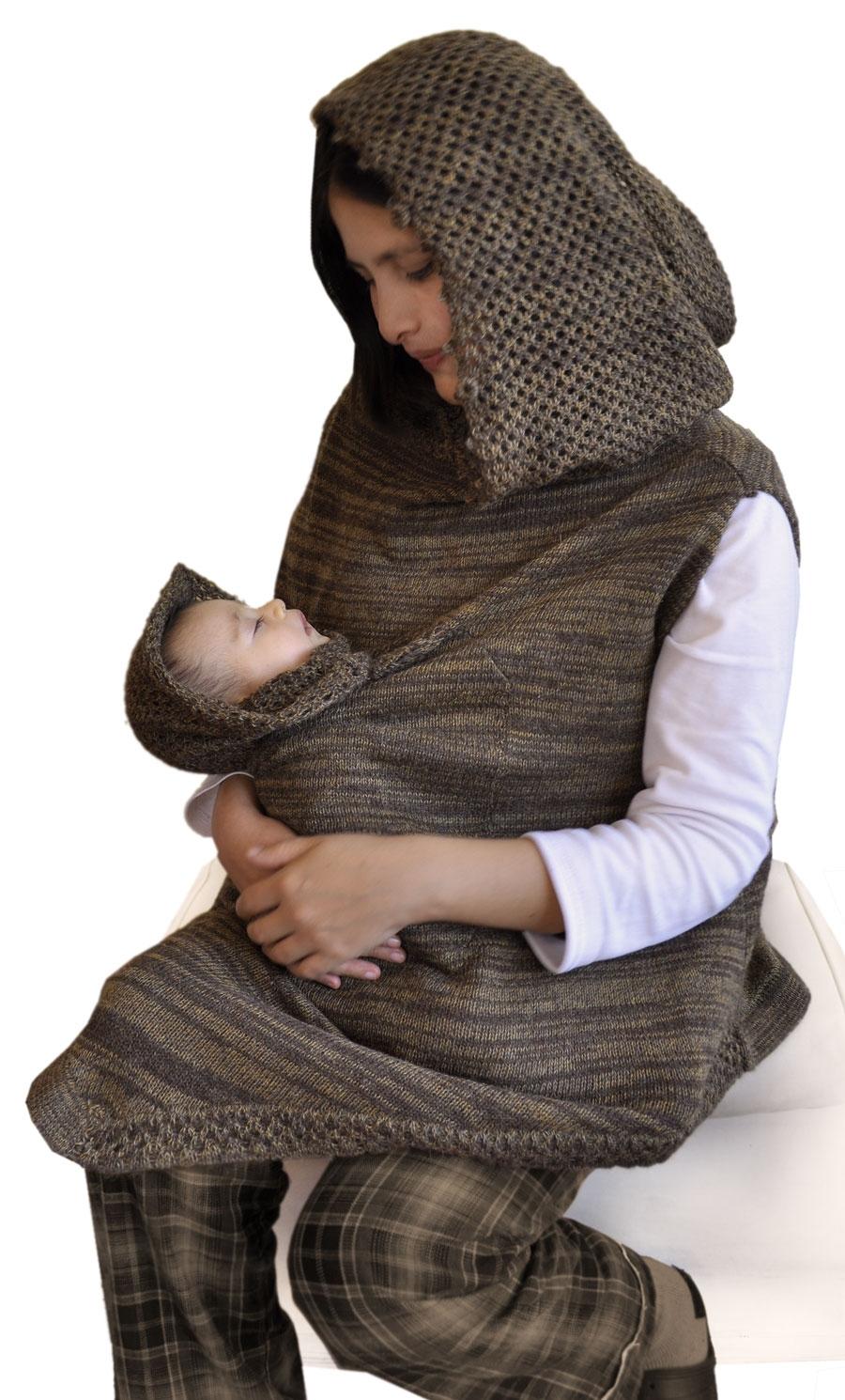 Poncho maternidad America Latina Bolivia ce4ac4bca56